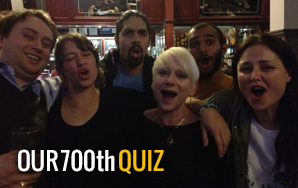 Our 700th Quiz